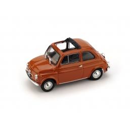 R454-14 FIAT 500F 1965-72 APERTA ROSSO CORALLO C