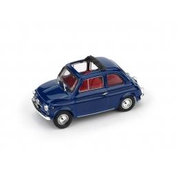 R454-15 FIAT 500F 1970-71 APERTA BLU ORIENTE