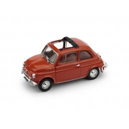 R464-02 FIAT 500L 1968-72 APERTA CORALLO SCURO