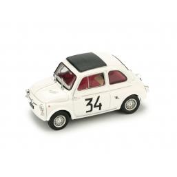 R473 FIAT ABARTH 595  MONZA 1964 1° PATRIA F.