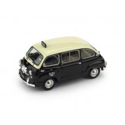 R481 FIAT 600D MULTIPLA TAXI DI GENOVA 1960