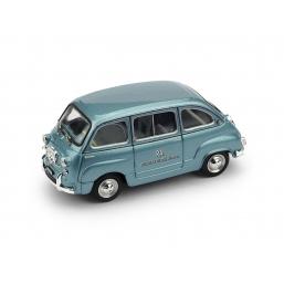 R484 FIAT 600D MULTIPLA RAI 1960
