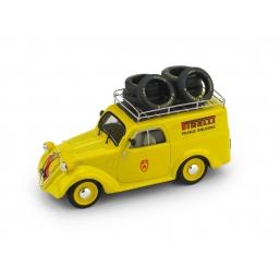 R492 FIAT 500B FURGONE'50 PIRELLI MILLE MIGLI