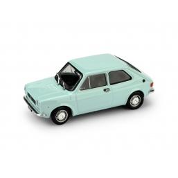 R500-06 FIAT 127 1a SERIE 1971 AZZURRO CHIARO