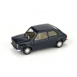 R500-07 FIAT 127 1a SERIE 1971 BLEU SCURO