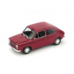 R500-08 FIAT 127 1a SERIE 1972 ROSSO ETNA