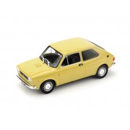 R500-10 FIAT 127 1a SERIE 1972 GIALLO TUFO