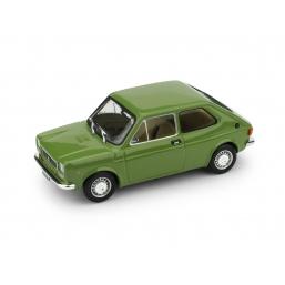 R500-13 FIAT 127 1a SERIE 1971 VERDE BRILLANTE