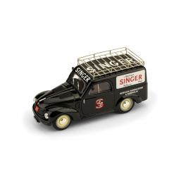 R540 FIAT 500C FURGONE  1960 SINGER
