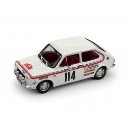 R551 FIAT 127 RALLY MONTE CARLO 1973 #114