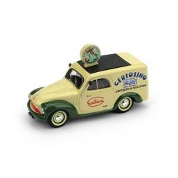R554B FIAT 500C FURGONE 1950 GALBANI