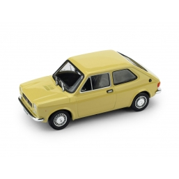 R605-03 FIAT 127 1972 TRE PORTE GIALLO TAHITI