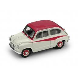 R645-01 FIAT 600 DERIVAZIONE ABARTH 750 1956