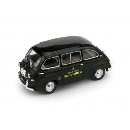 R649 FIAT 600 MULTIPLA 1956 VIGILI URBANI TO