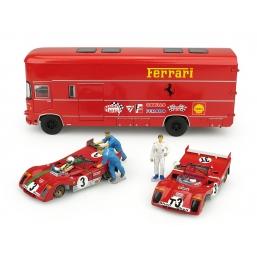 RTS06 RACE TRASPORTER SET TARGA FLORIO 1972