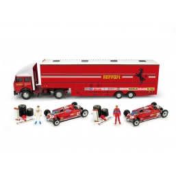 RTS09 RACE TRANSPORTER SET G.P. SPAGNA 1981