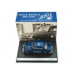 S0618 FIAT 1400B 1956 CROCE BIANCA MILANO