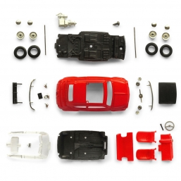 S2002 FIAT 500 ARCOBALENO RED