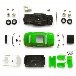 S2005 FIAT 500 ARCOBALENO GREEN