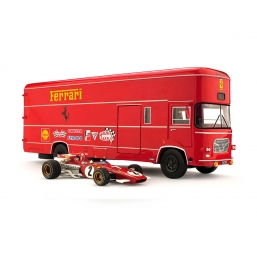 TS04 TRANSPORTER SET OM ROLFO + FERRARI 213B