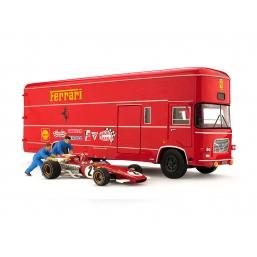 TS04B TRANSPORTER SET OM ROLFO + FERRARI 213B